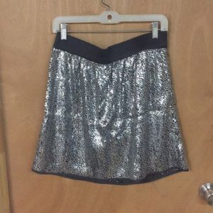 GAP sequin skirt